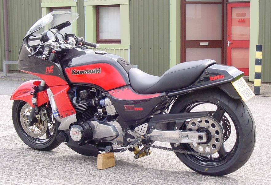 Kawasaki Gpz750 Turbo Tuning House